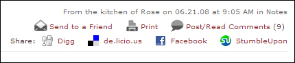 Real Baking with Rose: share icons