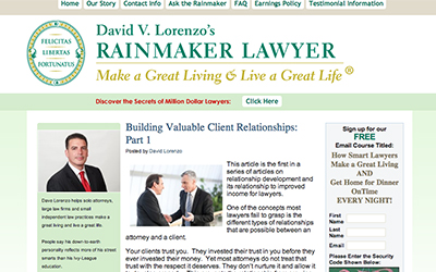 Rainmaker Lawyer Screenshot