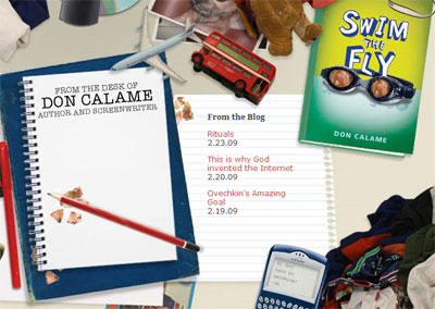 don calame website