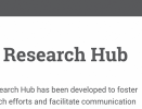Thumbnail Screenshot of the ISCBC Website Research Hub About Page