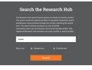 Thumbnail Screenshot of the ISCBC Website Research Hub Search