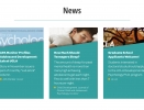 Thumbnail Screenshot of Adolescent Development Lab website News page