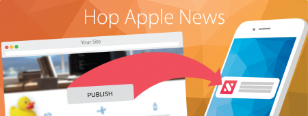 Hop Apple News banner