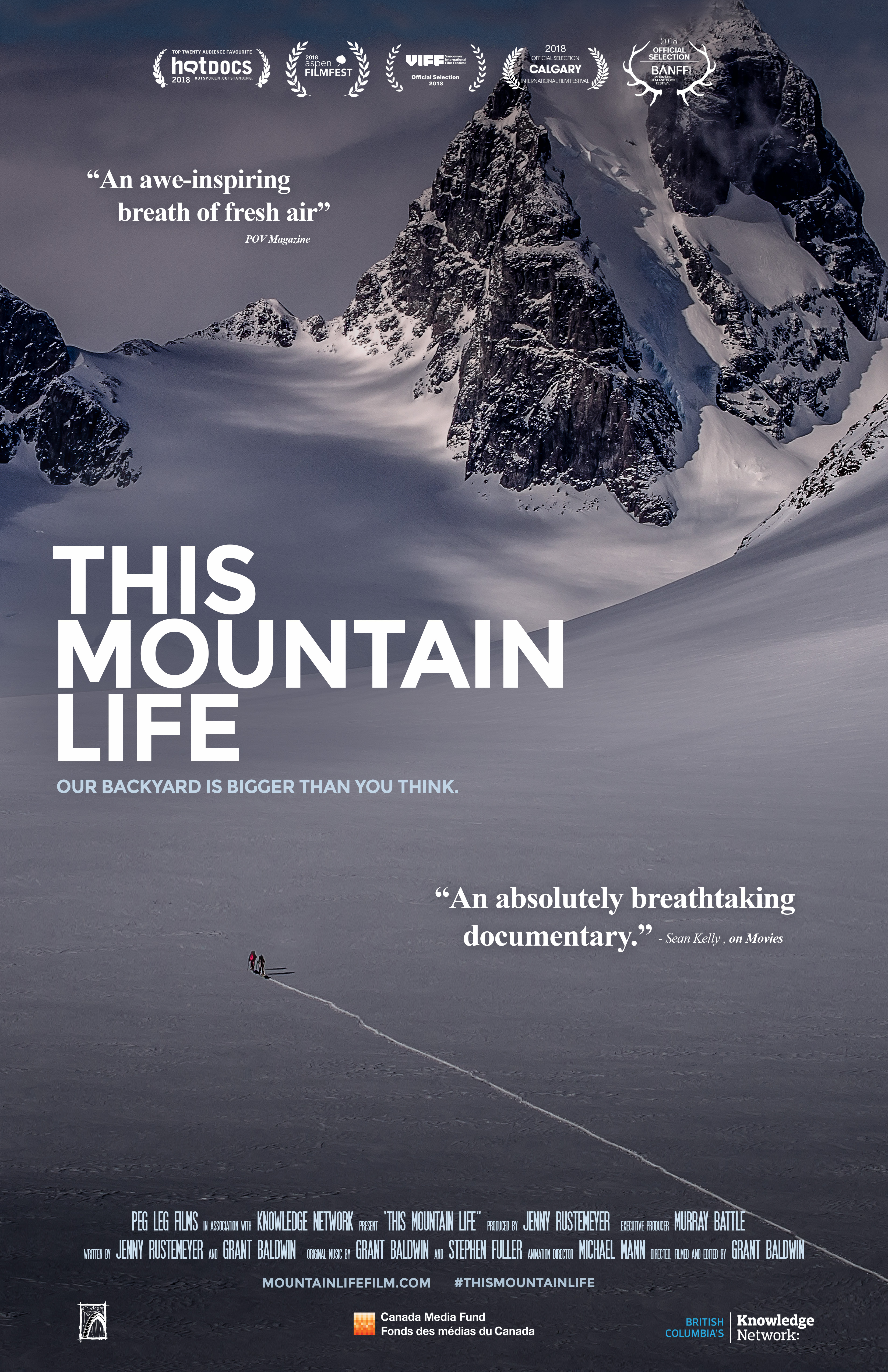 Poster for the film This Mountain Life