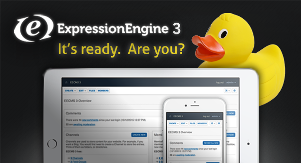 ExpressionEngine 3 Release